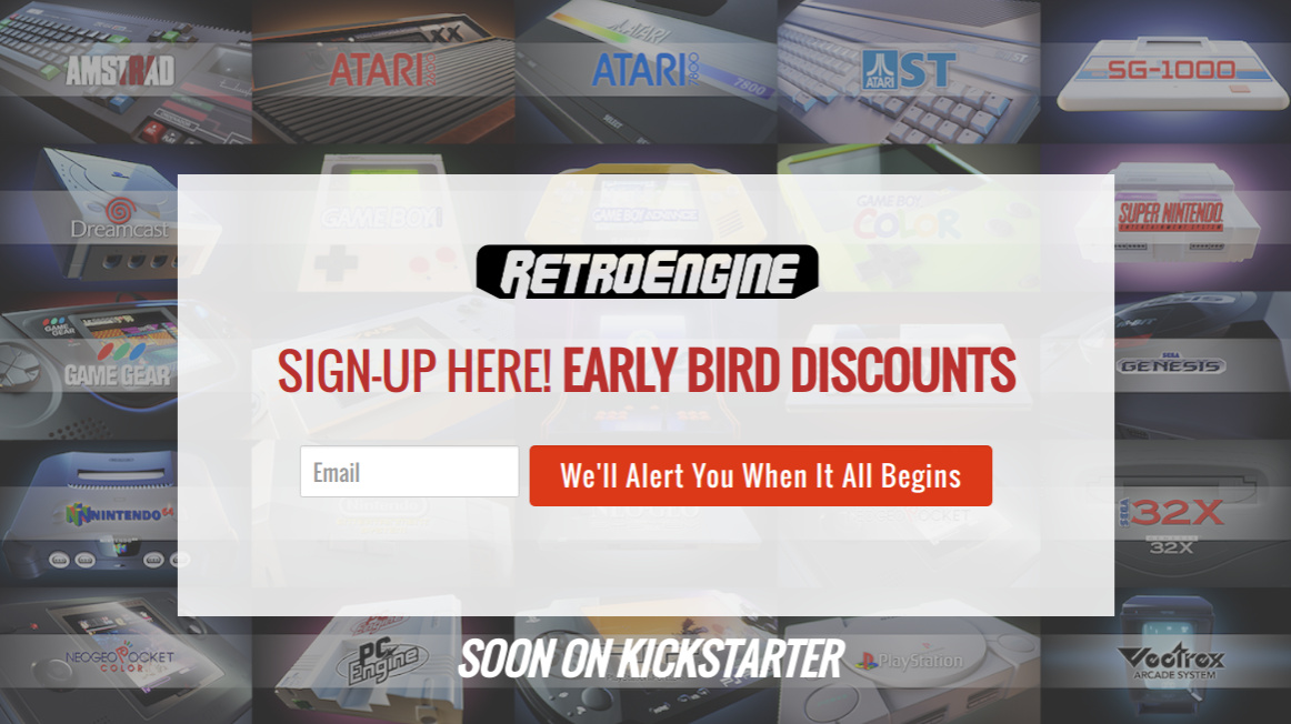 Mysterious RetroEngine Site Goes Live, Promises Support For Nintendo
