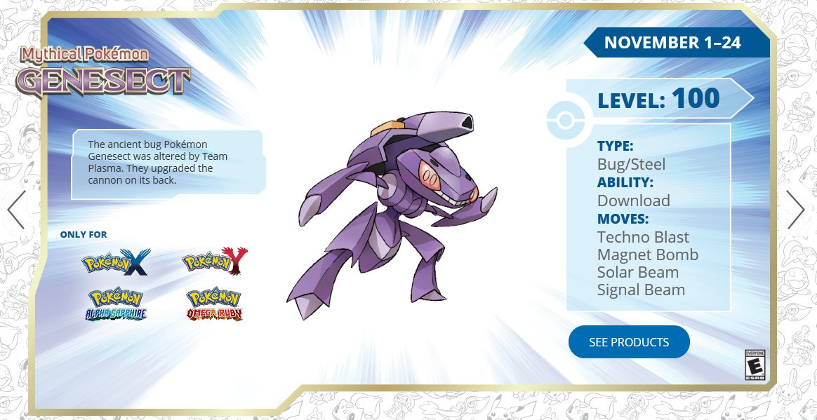 Genesect Good Nature