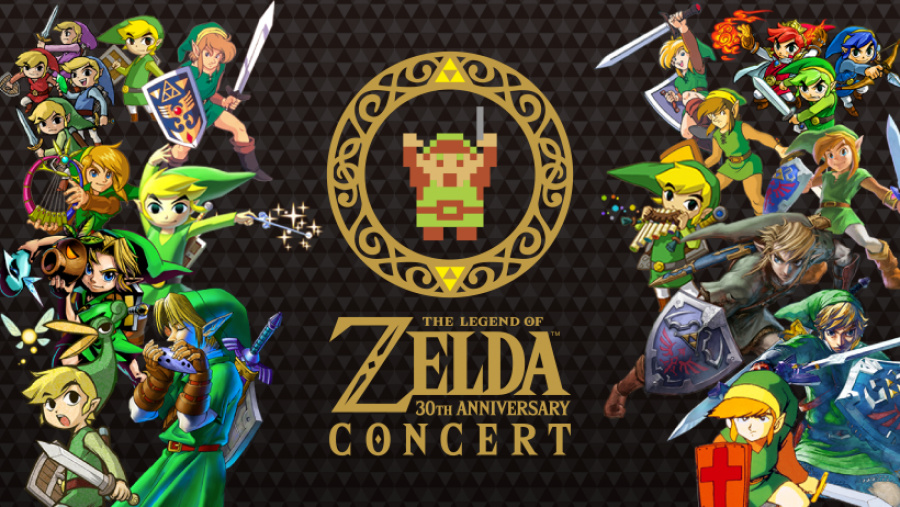 The Legend of Zelda 30th Anniversary Concert CD