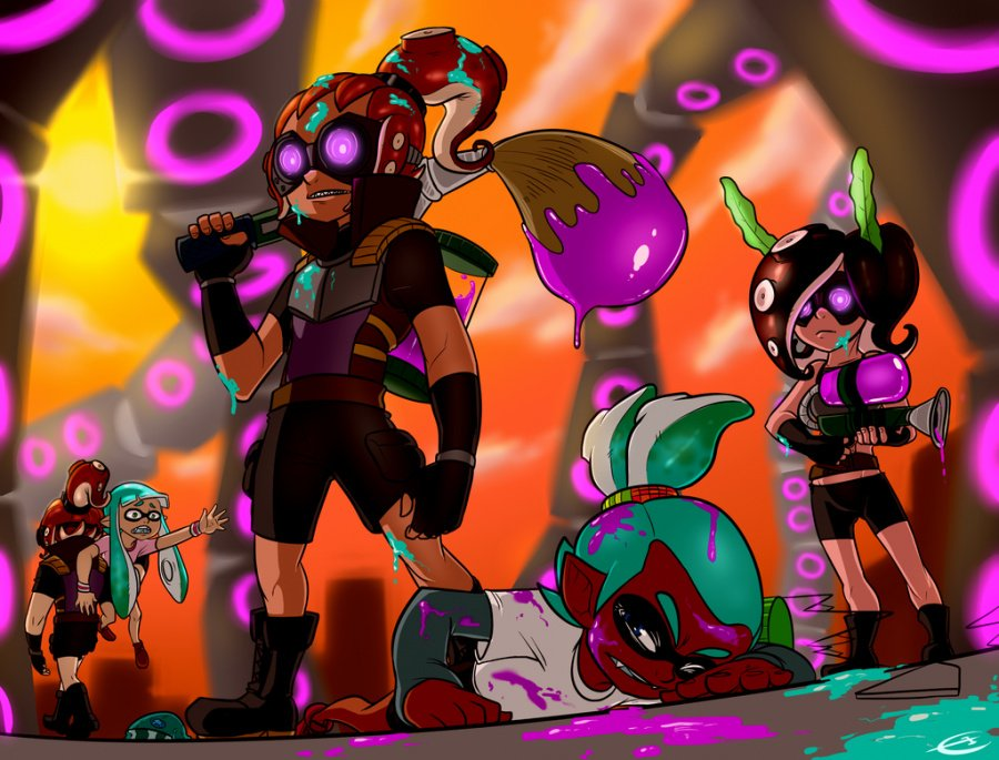 Octoling Strike