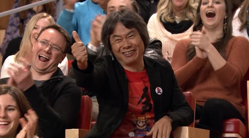 Shigeru Miyamoto's personality always brings smiles