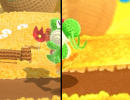 Video: Let's See How Poochy & Yoshi's Woolly World's Graphics Stand Up Compared to its Wii U Counterpart
