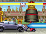 Article: Random: Here's What Happens When A Toyota Takes On Street Fighter Baddie M. Bison