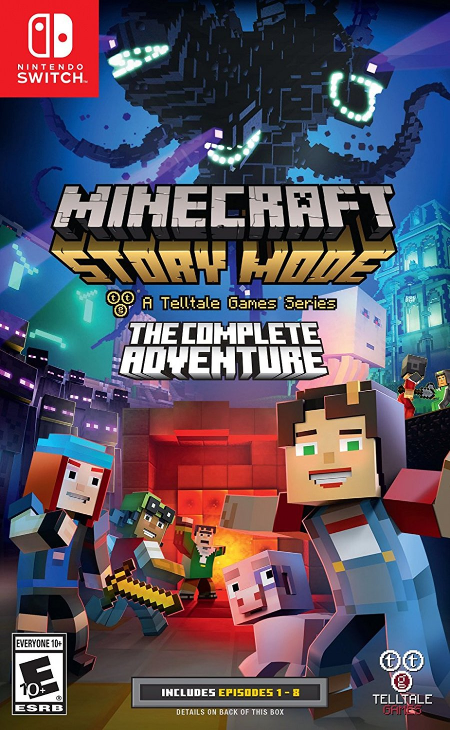 Minecraft: Story Mode Box Art