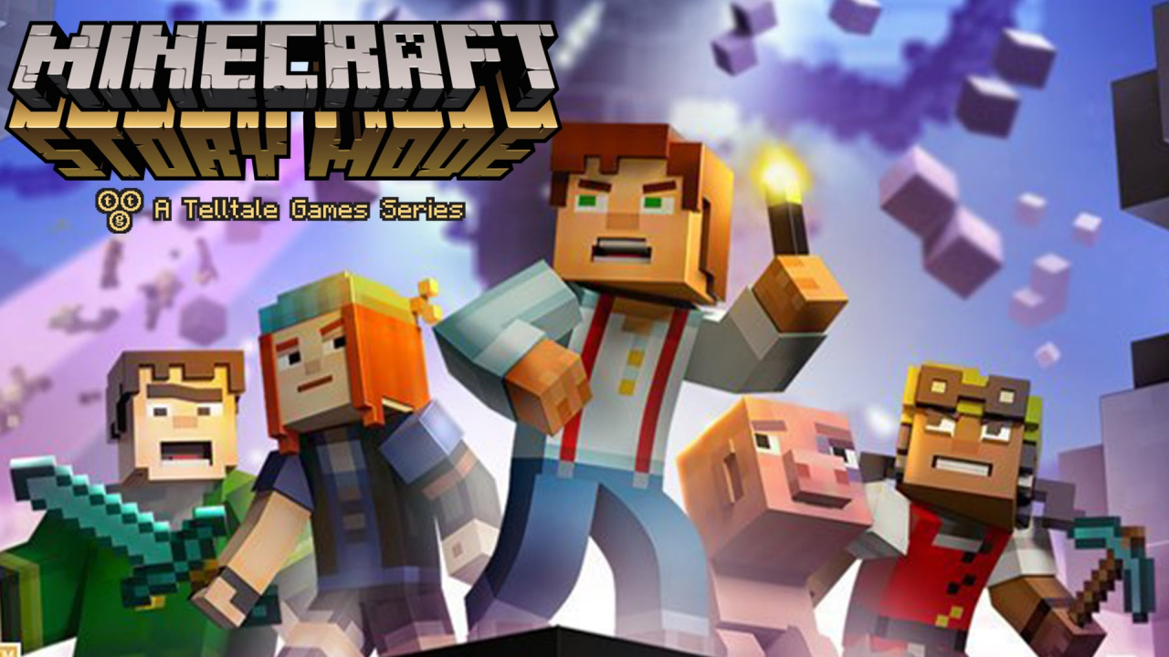 Amazon reveals box art and release date for minecraft story mode on switch nintendo life - Minecraft story mode wallpaper ...