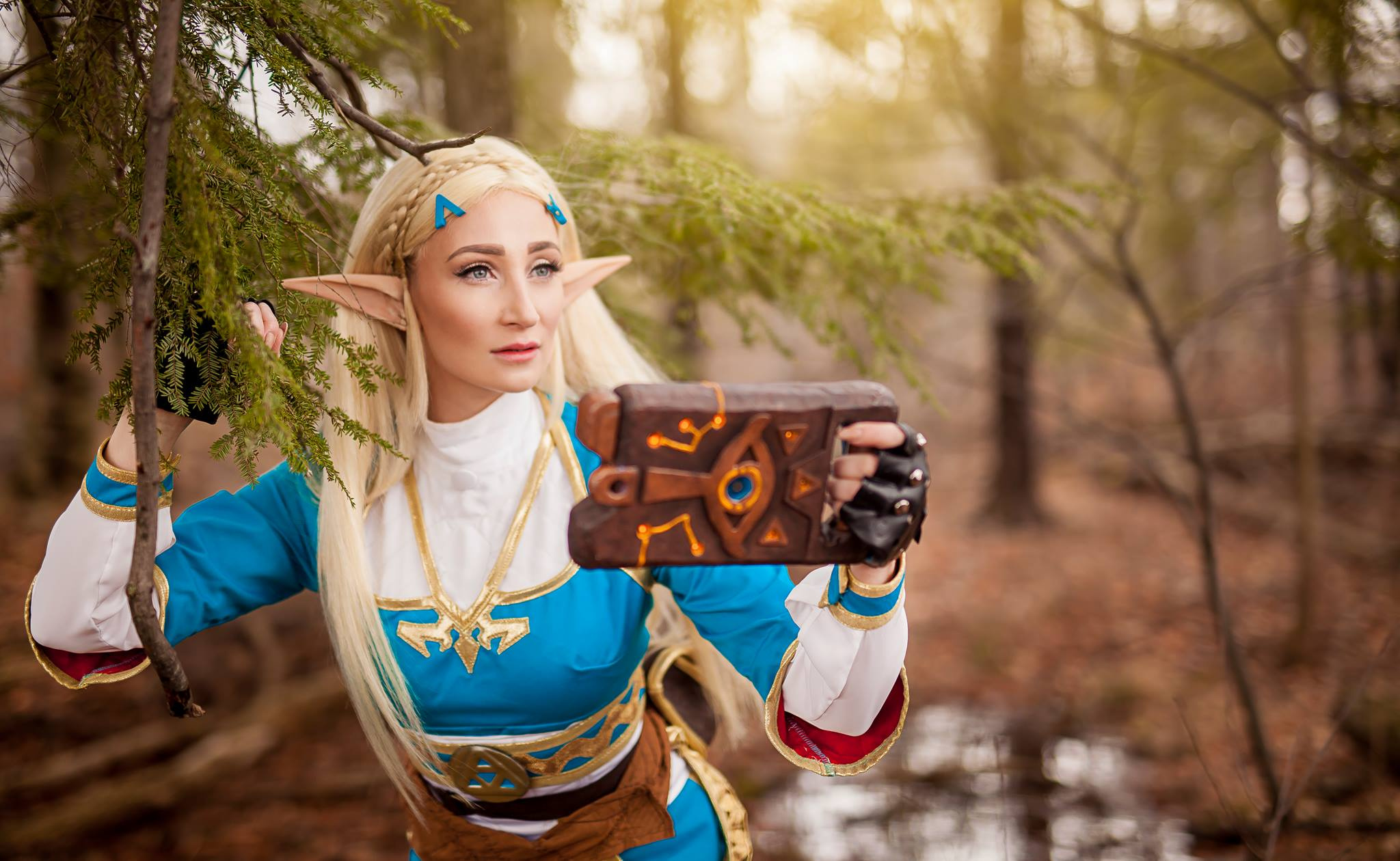 Gallery Behold This Amazing Zelda Breath Of The Wild Cosplay