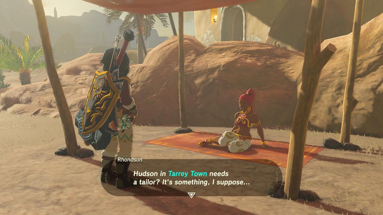 Gerudo Town Breath Of The Wild >> How To Unlock Tarrey Town, Zelda: Breath Of The Wild's Amazing Hidden Gem - Guide - Nintendo Life