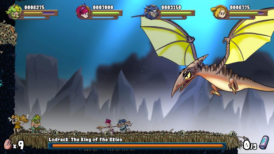Caveman Warriors Boss Battle.png