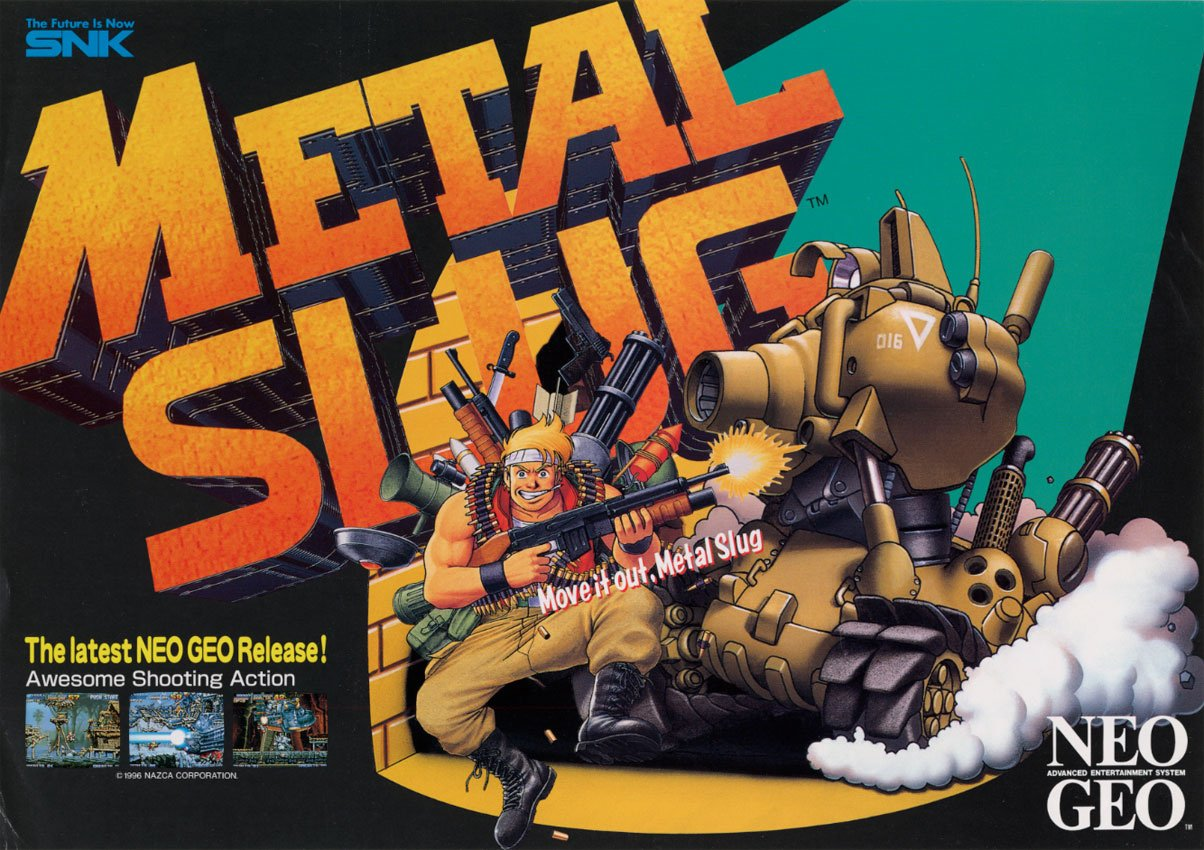 Metal Slug Is Coming To The Nintendo Switch Eshop This