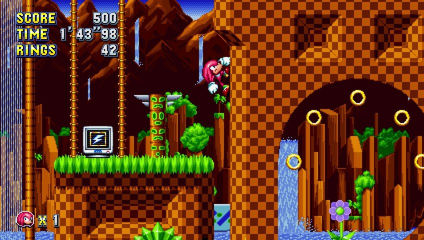 Sonic Mania New Video Shows Off Green Hill Zone Act 2