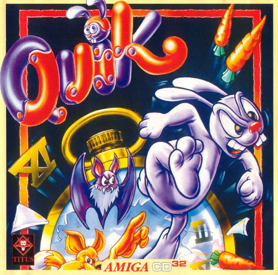 Quick The Thunder Rabbit CD32 Cover