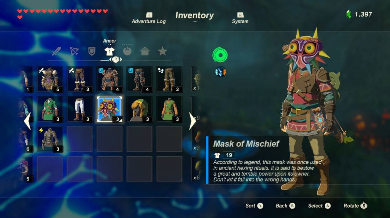 What id like to see specifically in the announced BOTW DLC