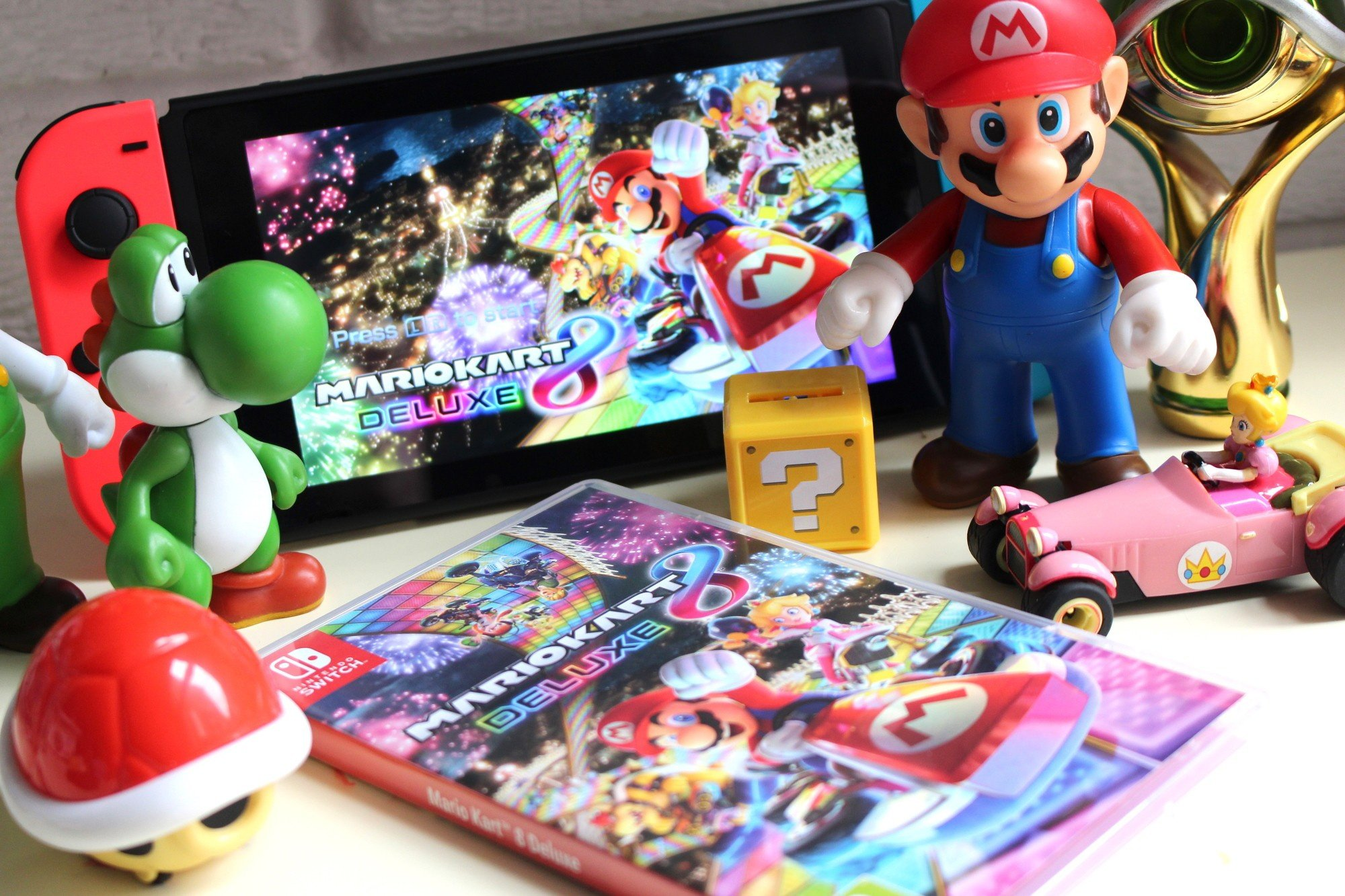 e01716a1f Mario Kart 8 Deluxe hits store shelves next week but we ve been lucky  enough to get our hands on it before then