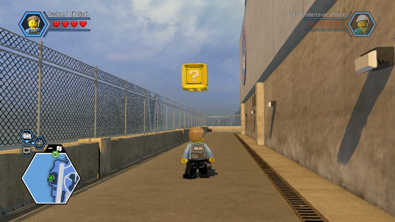 codes lego city undercover sur xbox one