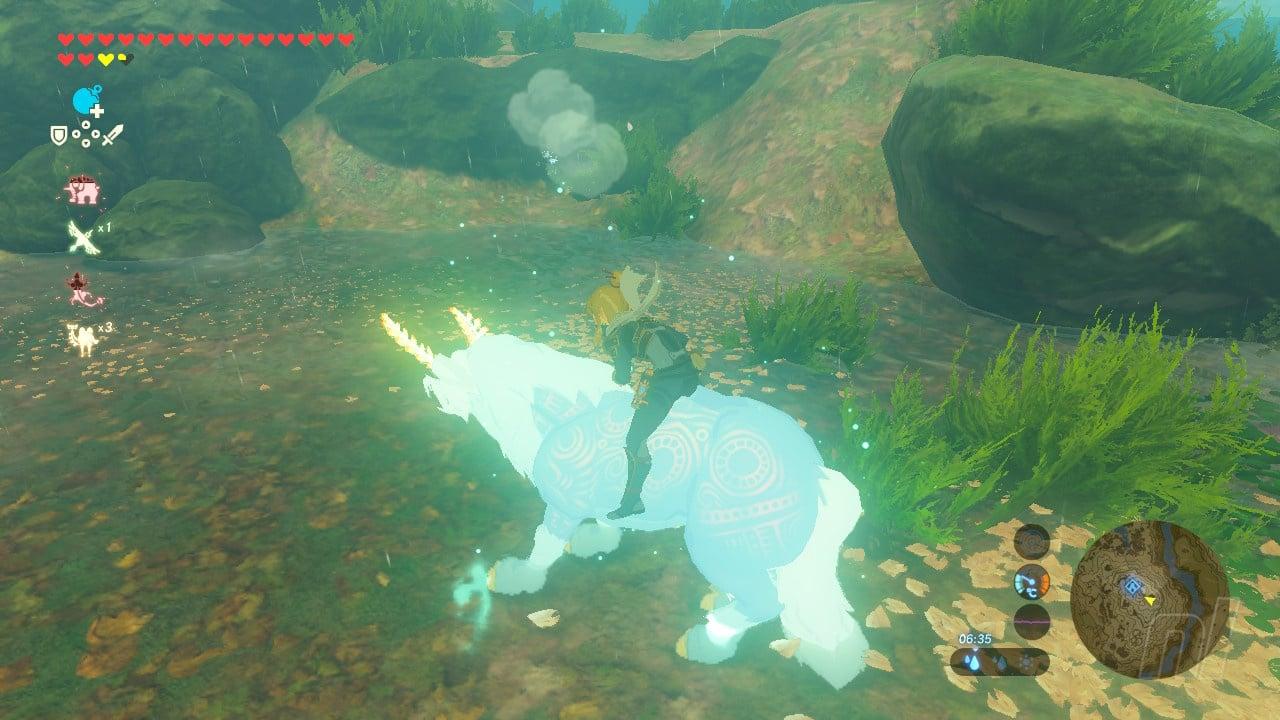 How To Catch The Best Mount In Zelda: Breath Of The Wild