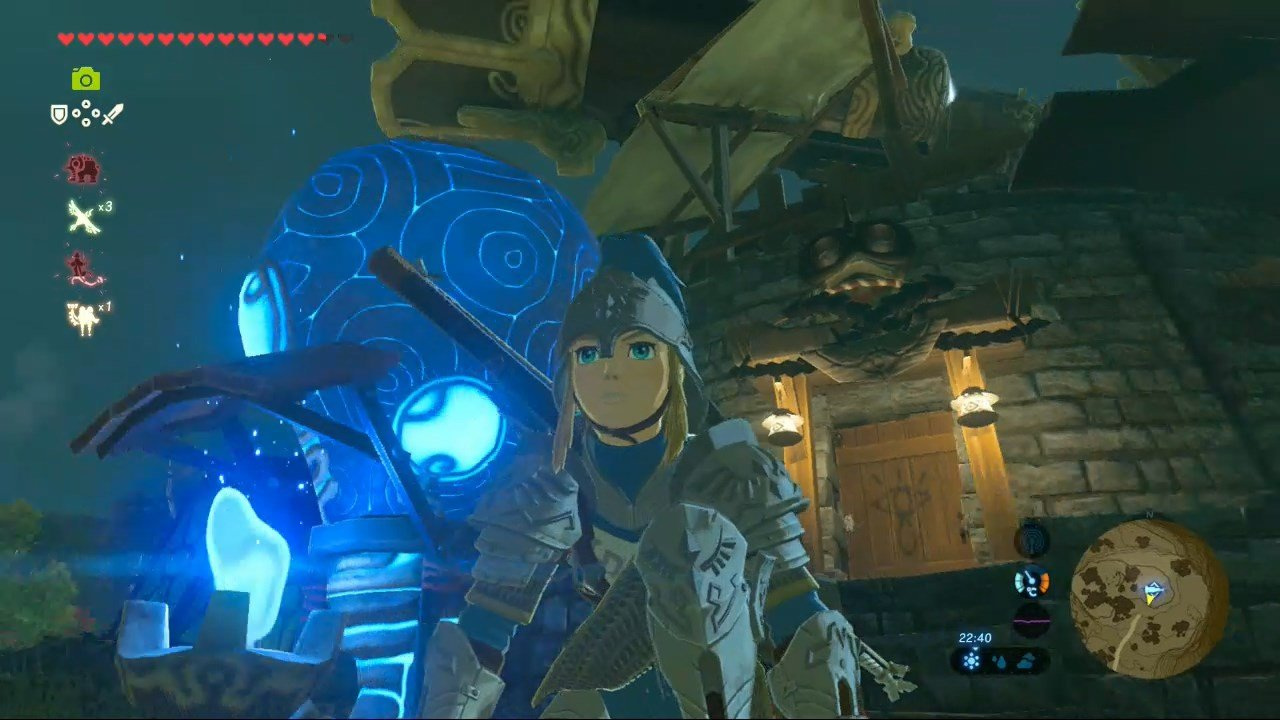 Breath Of The Wild Crafting Ancient Arrows