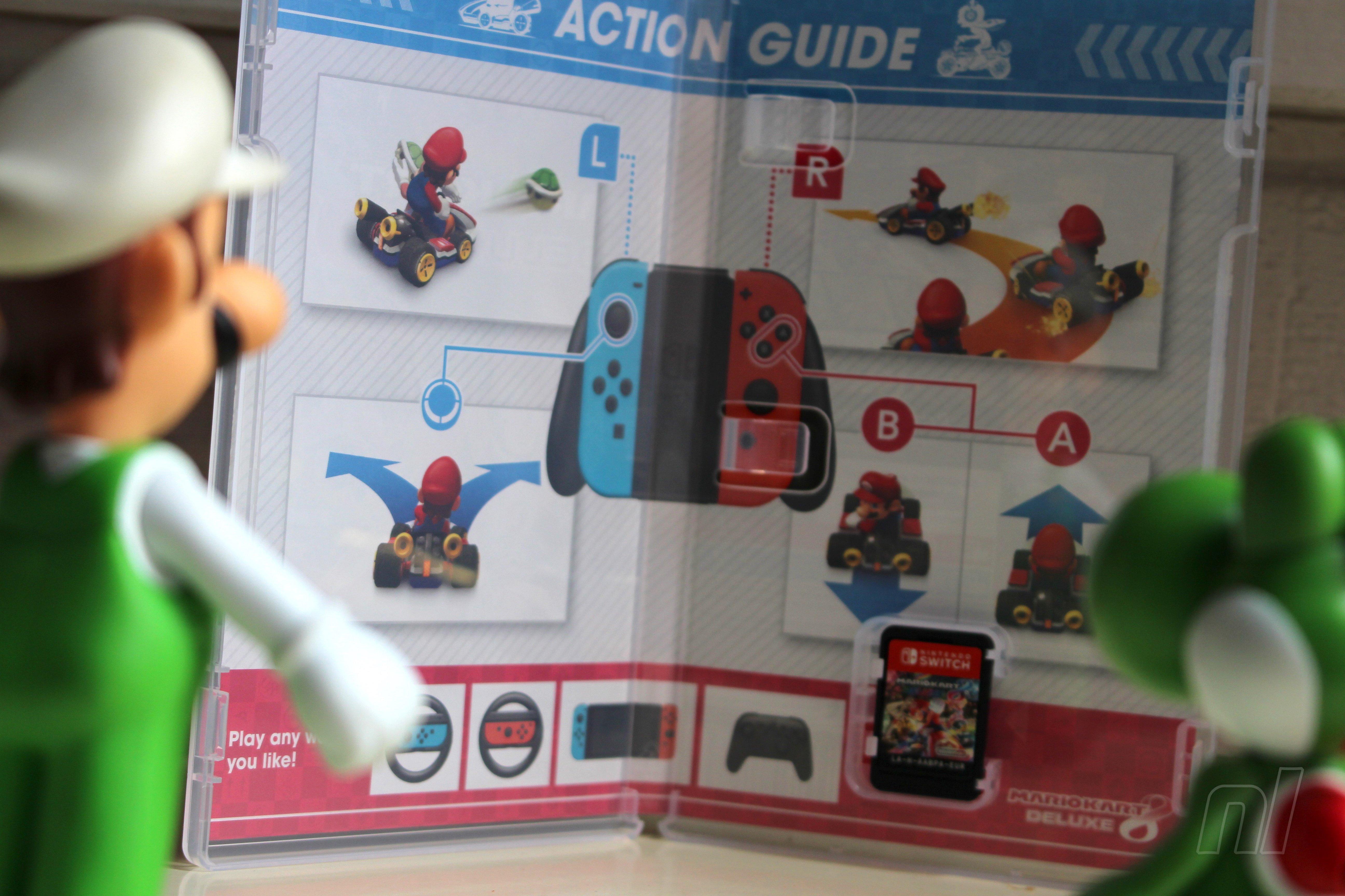 Mario Kart 8 Deluxe Instructions