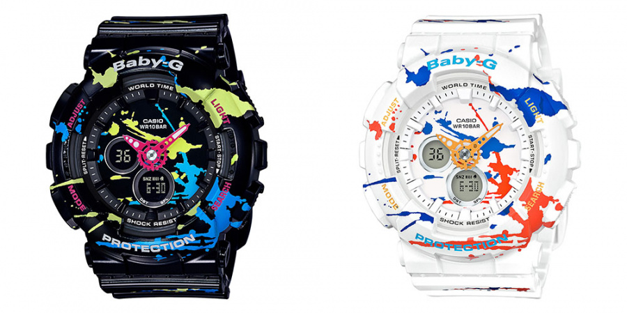 Splatoon-BabyG-Watches