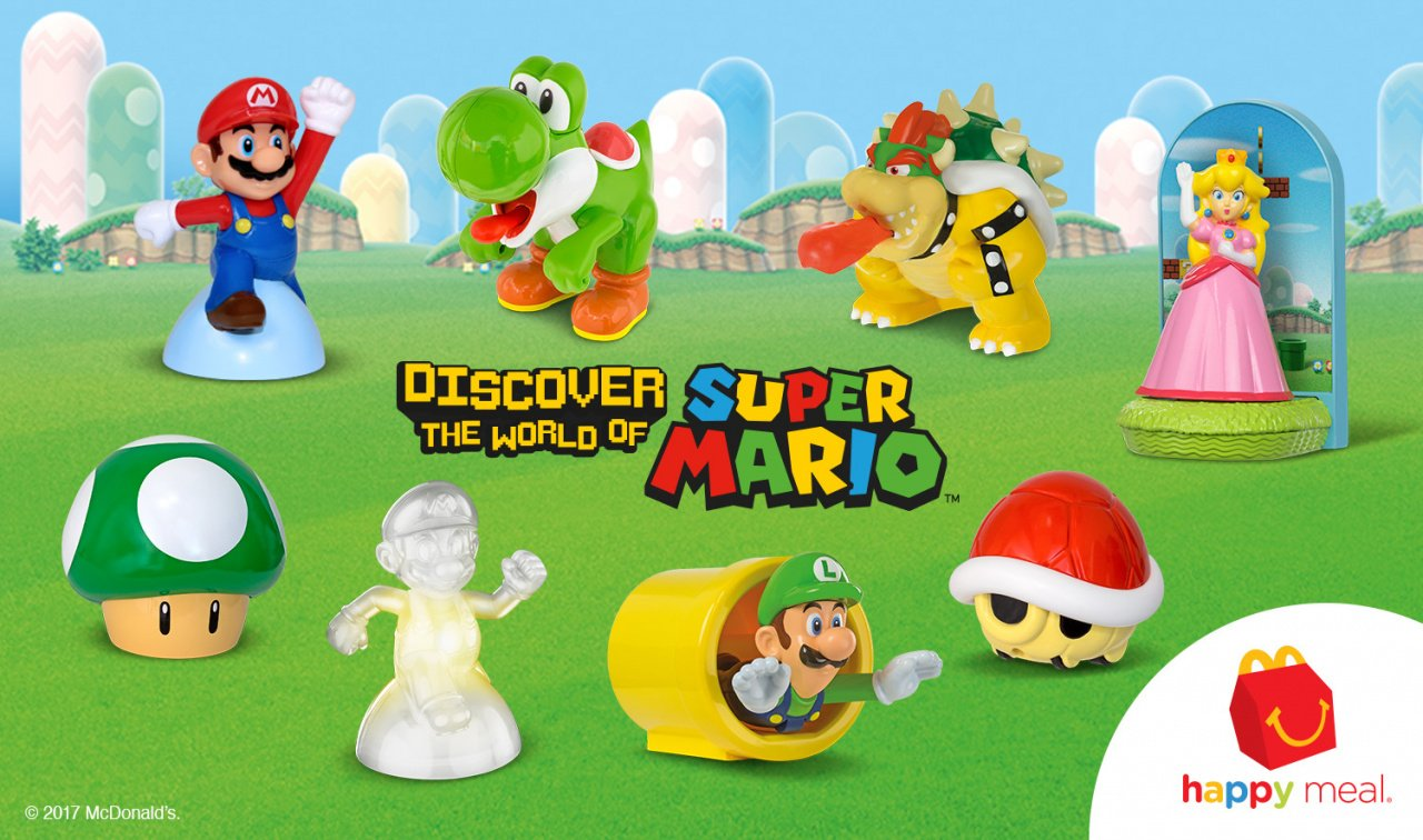 Toys From Mcdonald S Happy Meals : Super mario happy meal toys now available at mcdonald s in