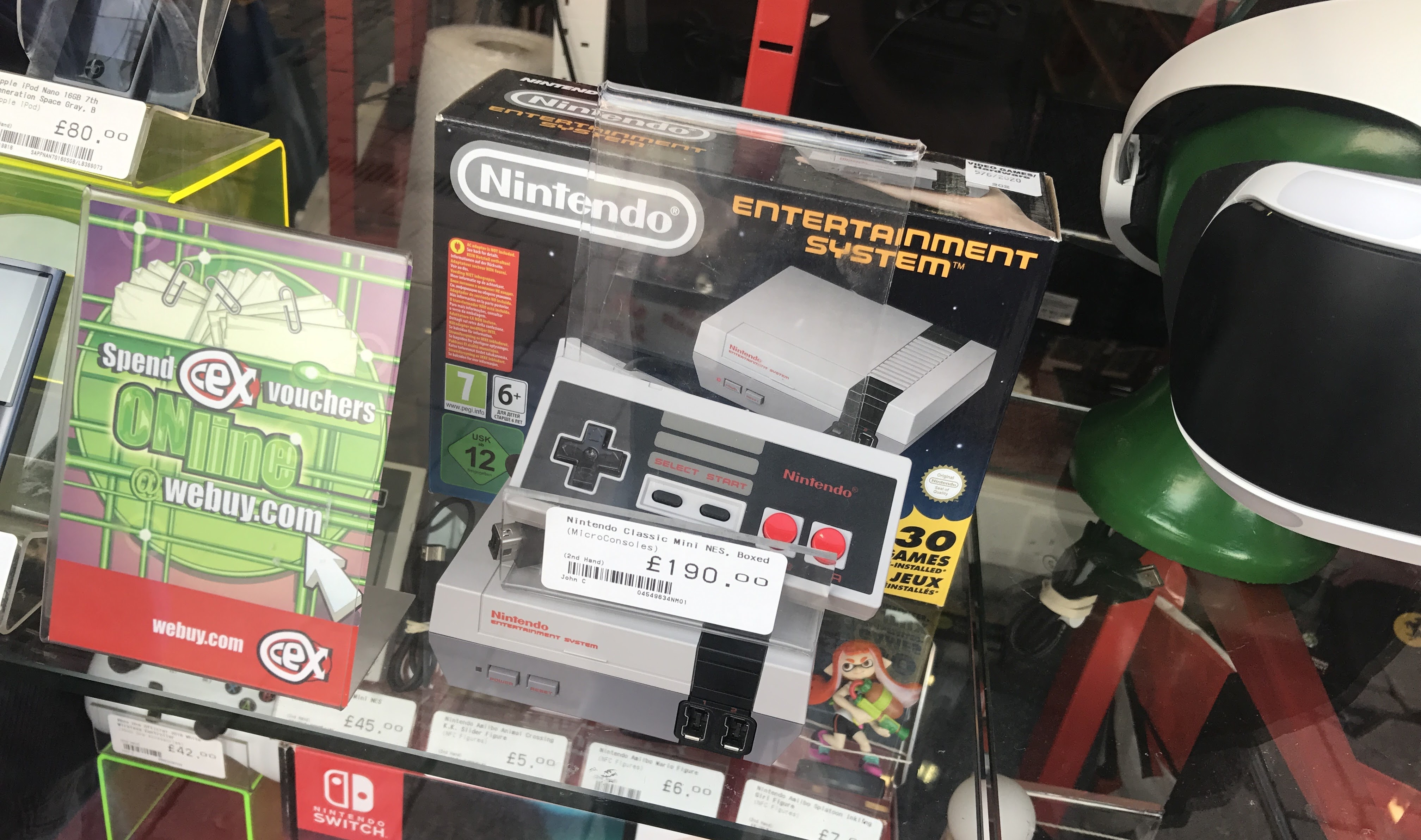Uk Retailer Exploits Nes Classic Demand By Asking More Than Three
