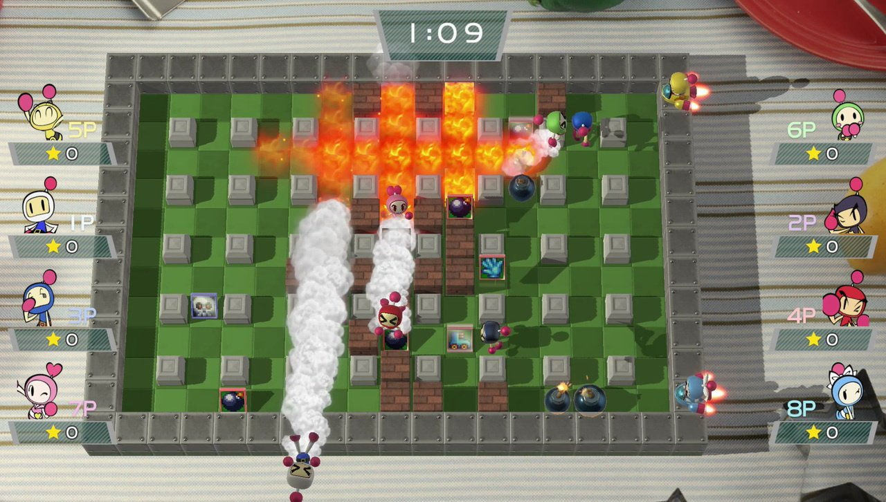 Konami's team utilised Unity for Super Bomberman R