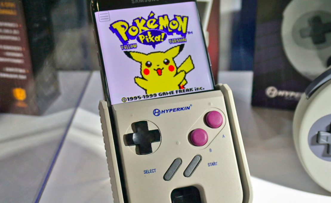 Hyperkins SmartBoy Gains Official Samsung Licence Coming To - Hyperkin smartphone gameboy