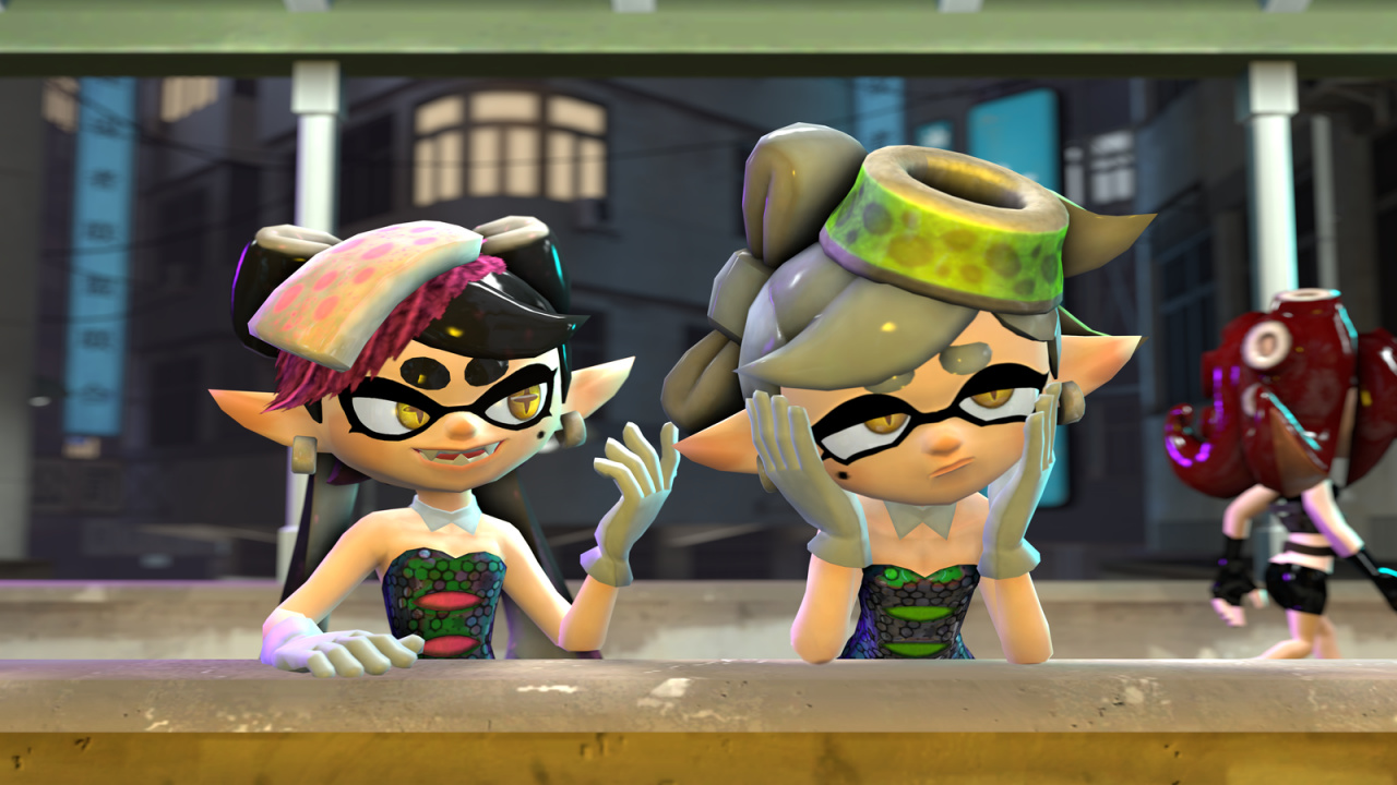 Callie And Marie Wallpaper: Splatoon 2 Squid Sisters Story Deepens In Chapter 2