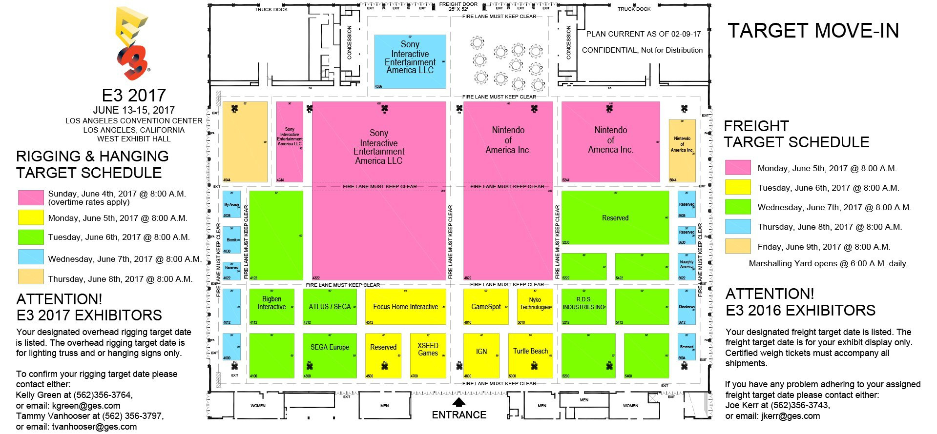 Nintendo has, as always, booked out plenty of space on the show floor