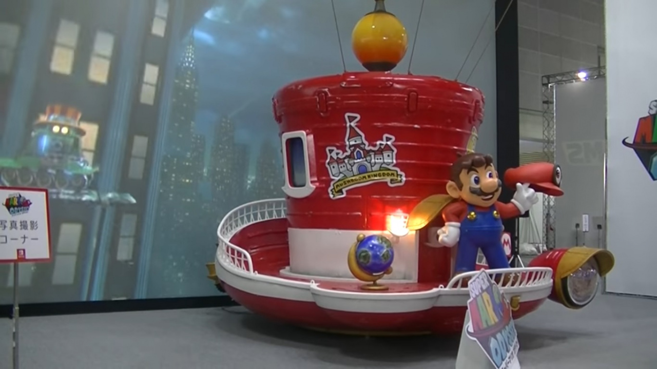 Video New Off Screen Footage Of Super Mario Odyssey