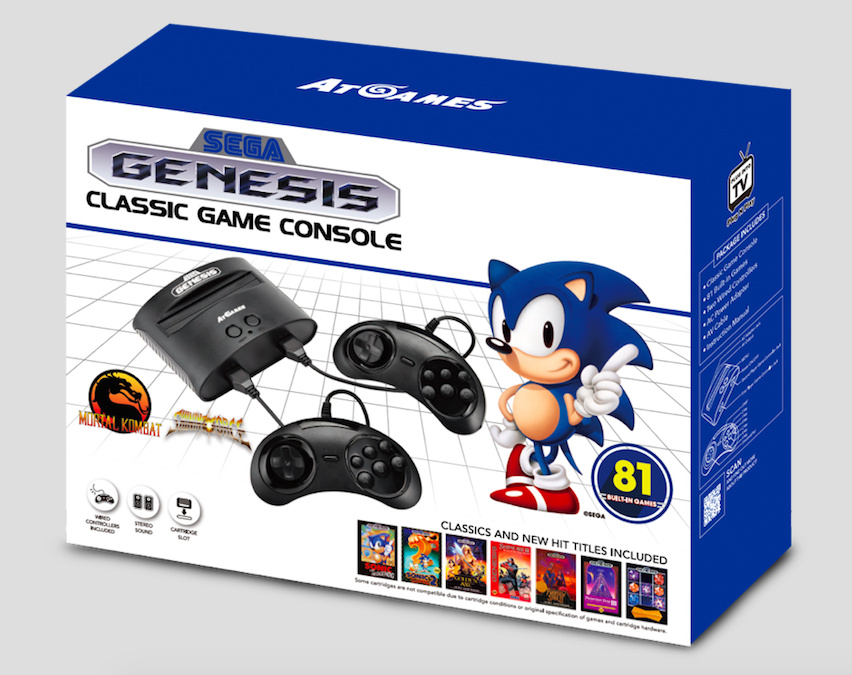 AtGames Is Refreshing Its Sega Genesis Line Of Clone Systems