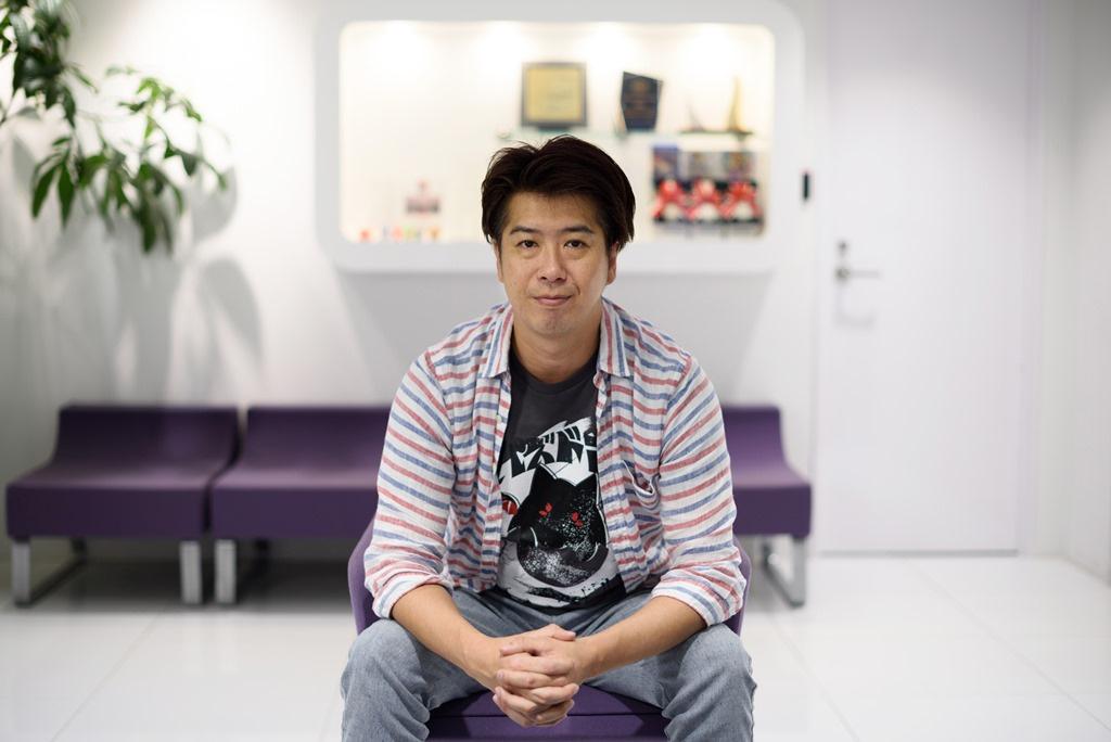 GungHo's president and CEO, Kazuki Morishita