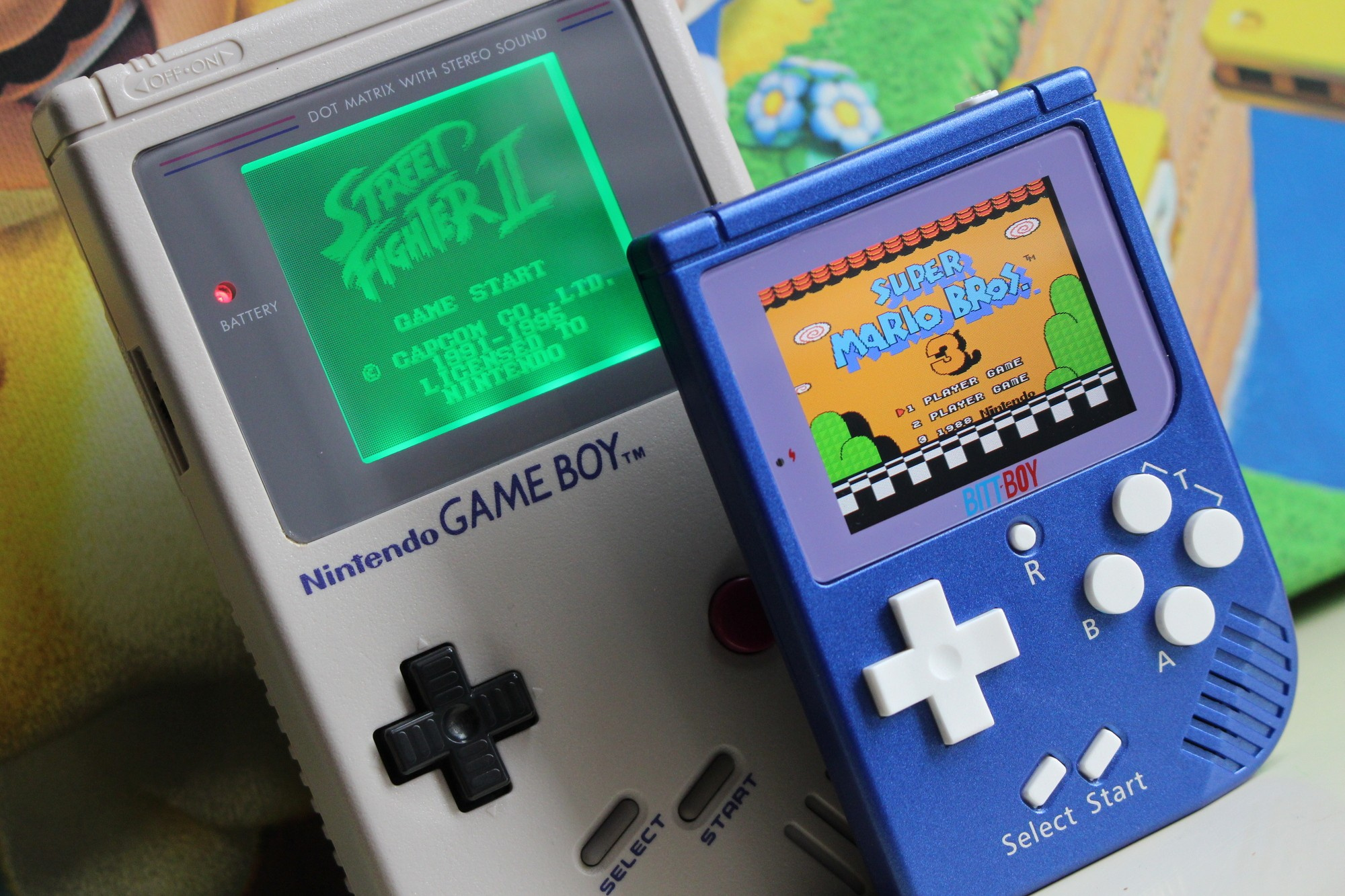 Hardware review bittboy portable video game handheld for Ptable games