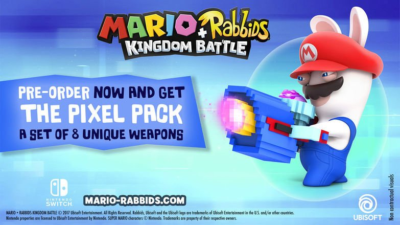 Mario+Rabbids Kingdom Battle Announced For Switch