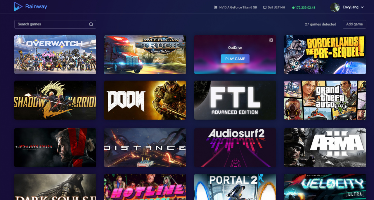 PC Game Streaming Service Rainway Confirms Switch As A Supported Platform