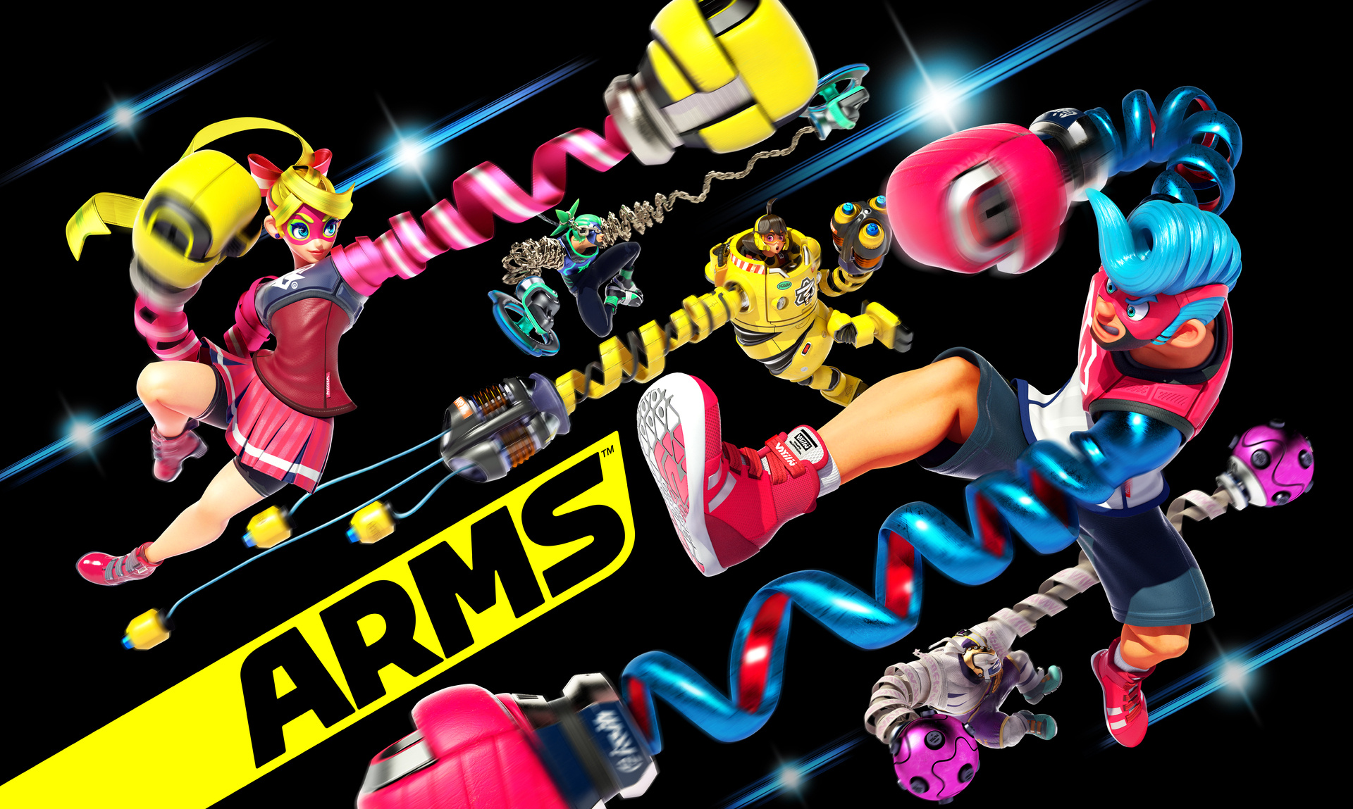 Preview: Trading Blows With ARMS on Nintendo Switch ...