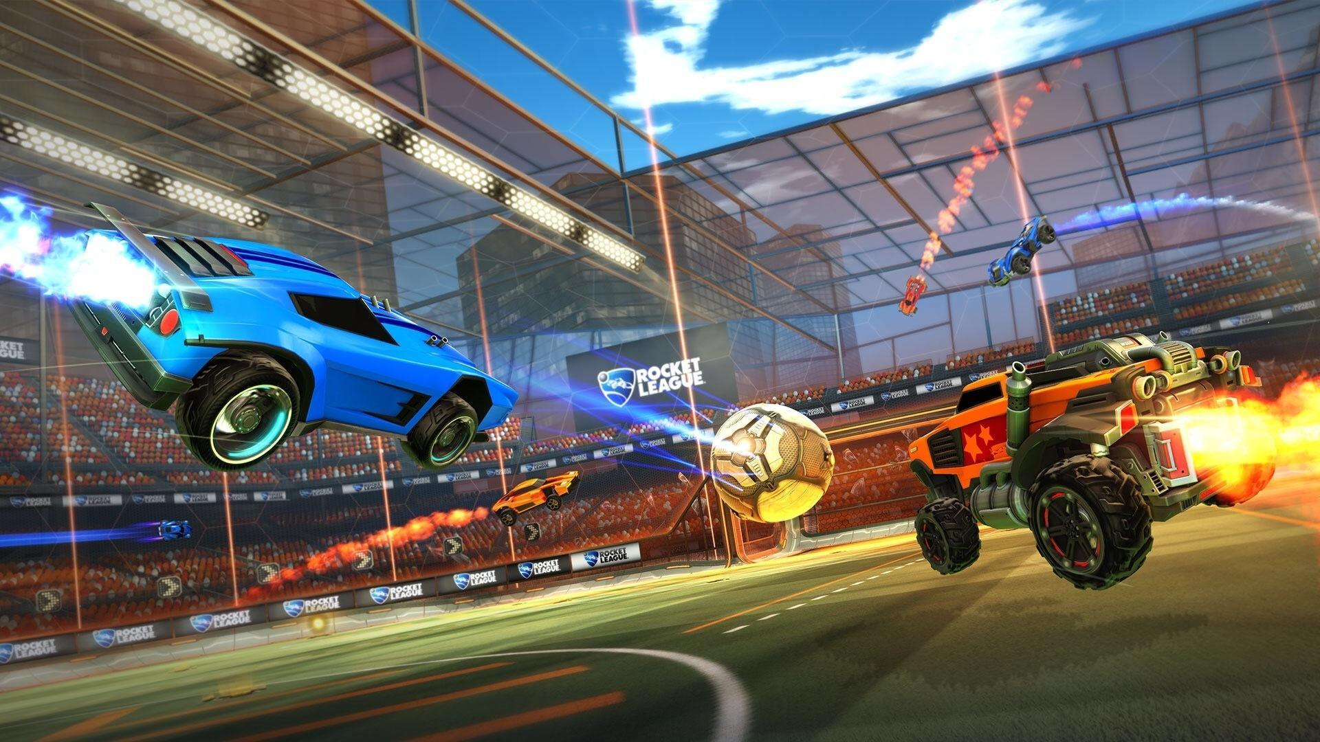 Cross Platform Play Is Coming To The Switch In A Big Way Thanks To Minecraft And Rocket League Both Of Which Will Allow Nintendo Players To Take On Their