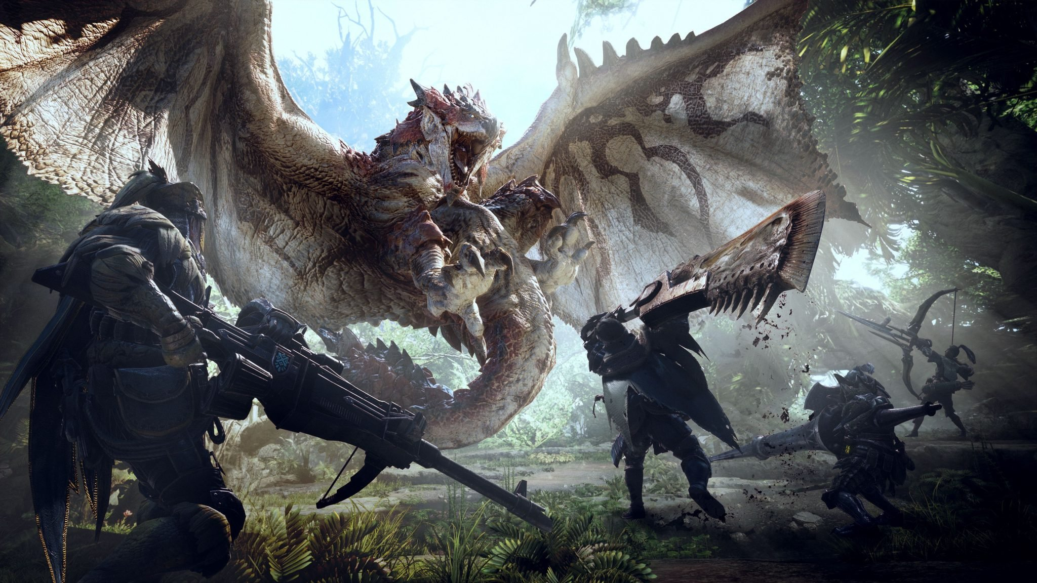 Monster Hunter: World isn't currently confirmed for Nintendo Switch