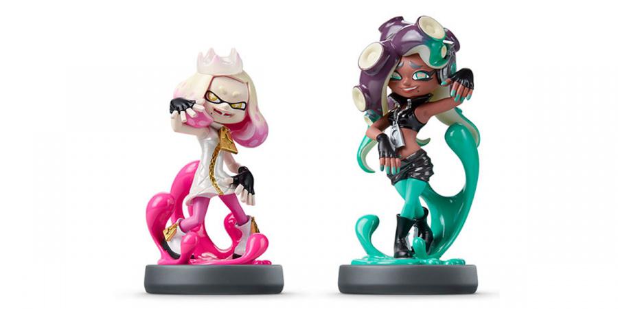 Pearl and Marina 'Off The Hook' amiibo - Splatoon 2