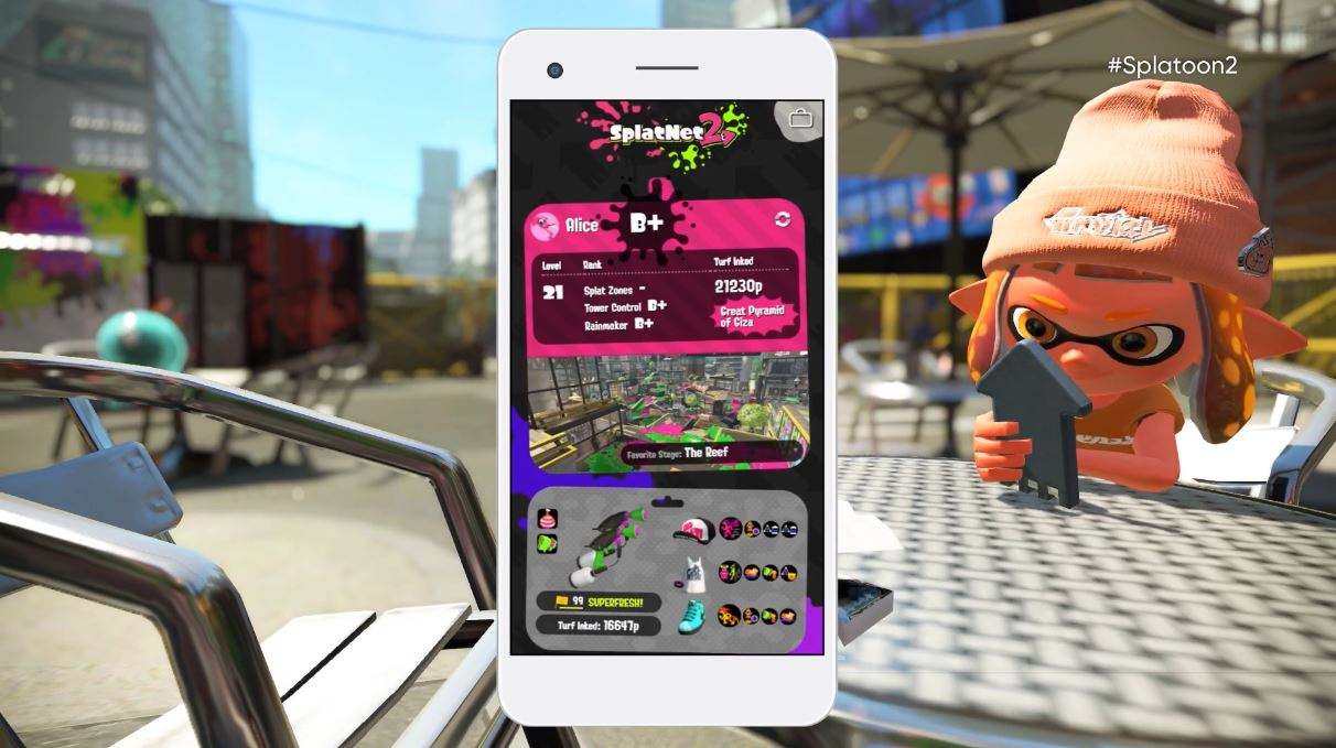 Nintendo Switch Online App to Bring Voice Chat and SplatNet