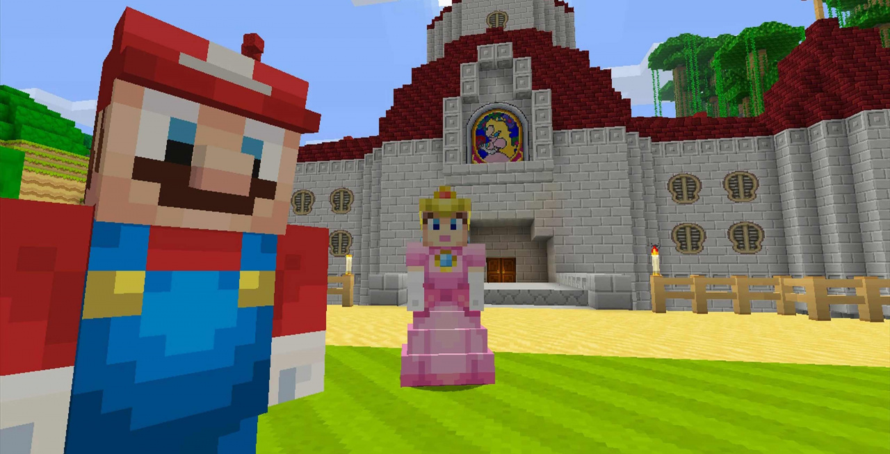 Update for minecraft nintendo switch edition enables 1080p display when docked nintendo life