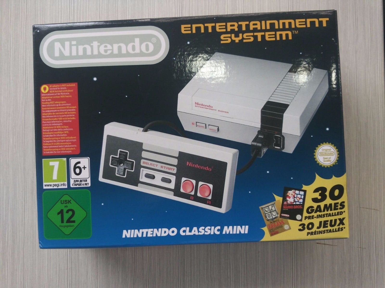 fake nes mini consoles spotted for sale on the web nintendo life. Black Bedroom Furniture Sets. Home Design Ideas