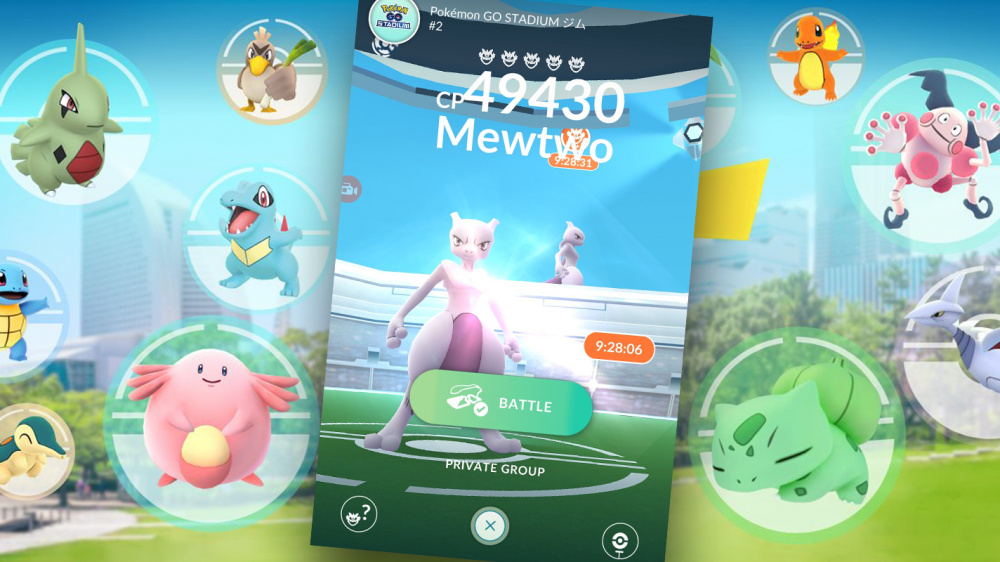 Mewtwo Legendary Raid Added to Pokémon Go in Japan