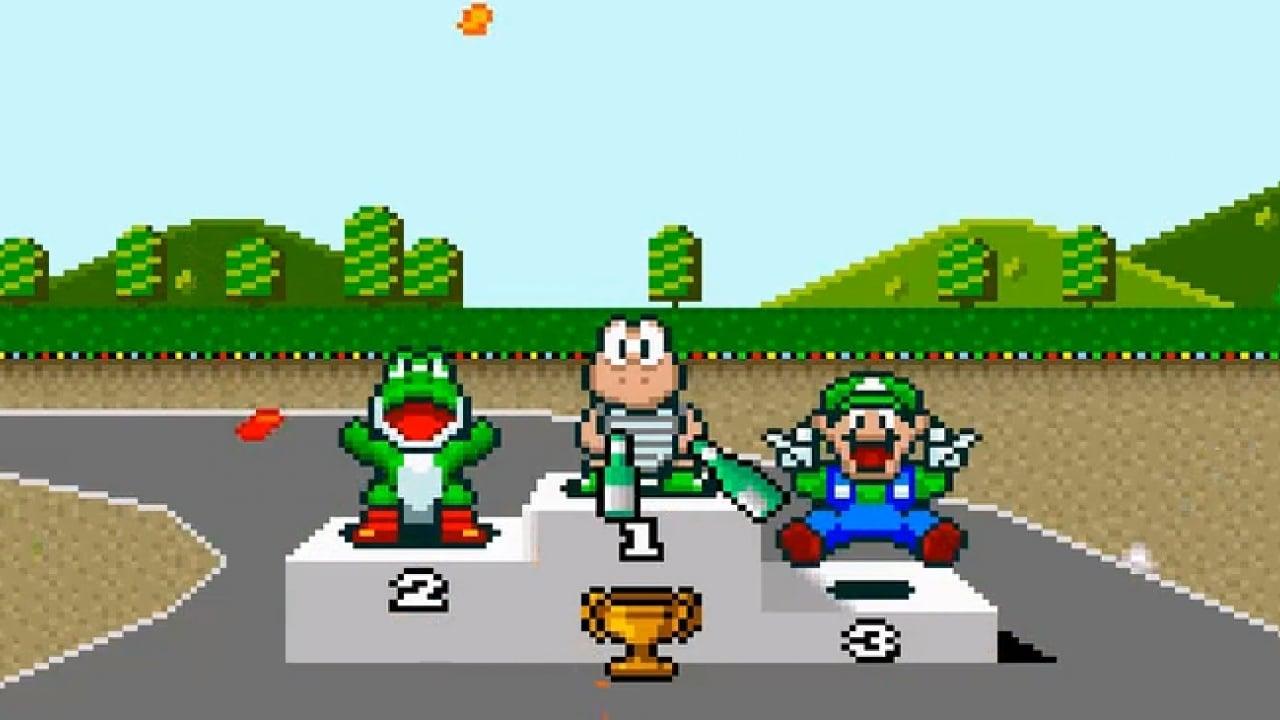 Super Mario Kart on SNES Gets MSU1 Digital Audio Enhancement