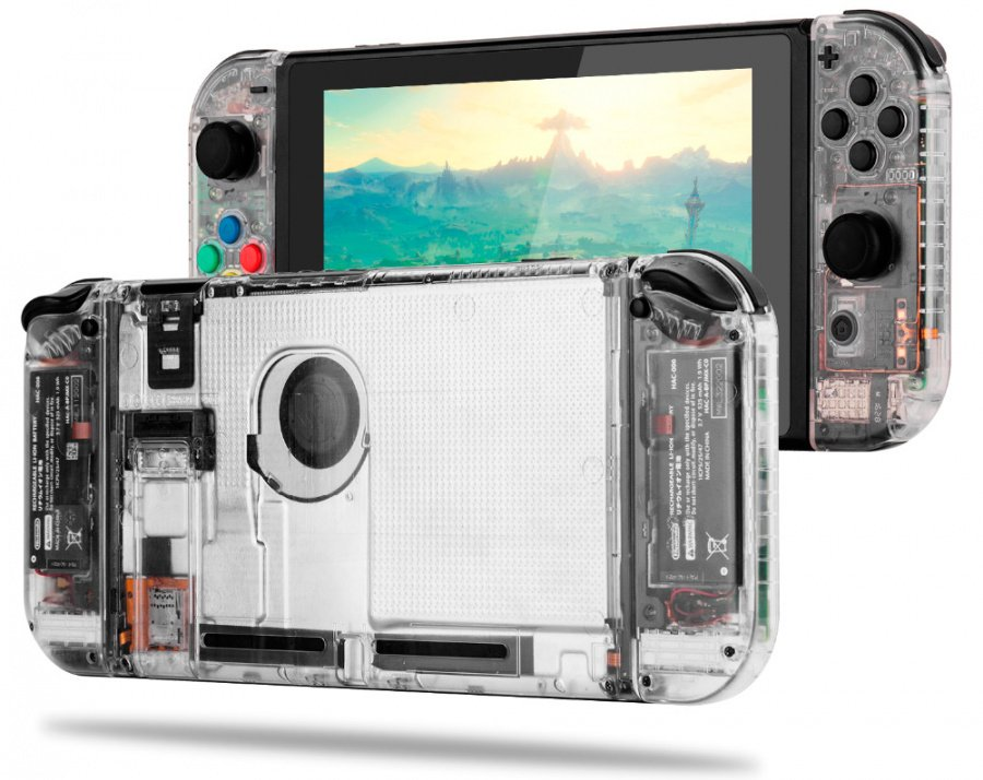 Replacement-Housing-Shell-Case-Cover-for-Nintend-Switch-NS-Controller-Joy-Con-game-console-with-Clear.png