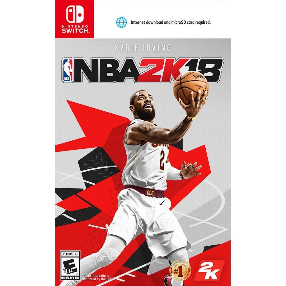 NBA 2K18 will be the first game to have the microSD boxart warning