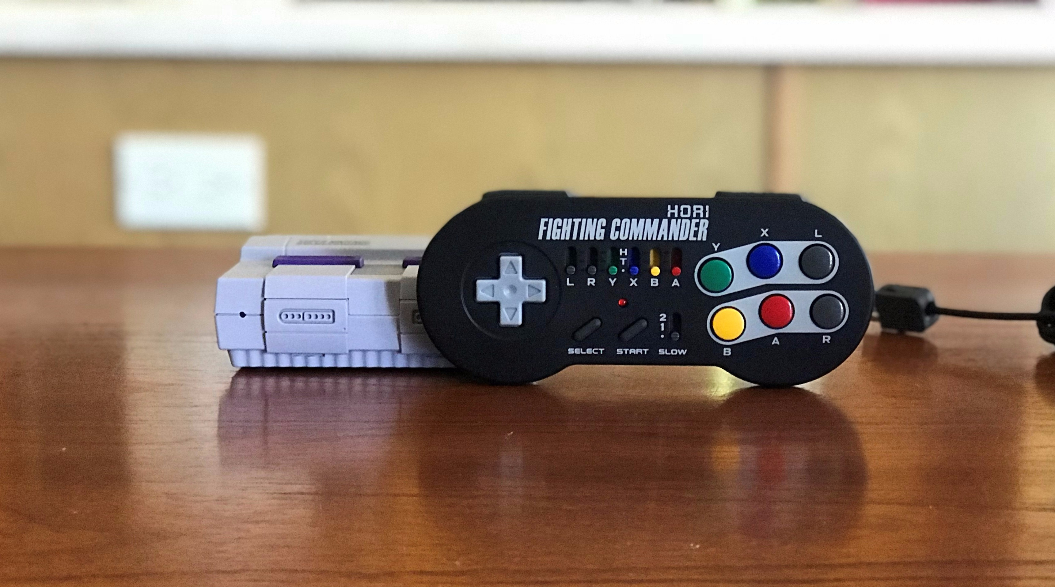 Hardware Review: Wireless Fighting Commander for SNES