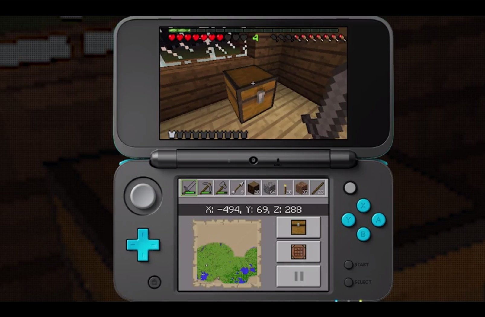 Minecraft New Nintendo 3ds Edition Out Now On The Eshop Packaged Three Way Switch In