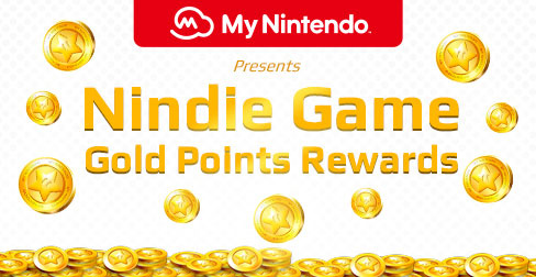 Nindie Game Gold Points Rewards