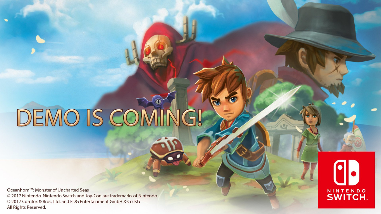 Oceanhorn Is Getting a Demo on the Switch eShop – GameUP24