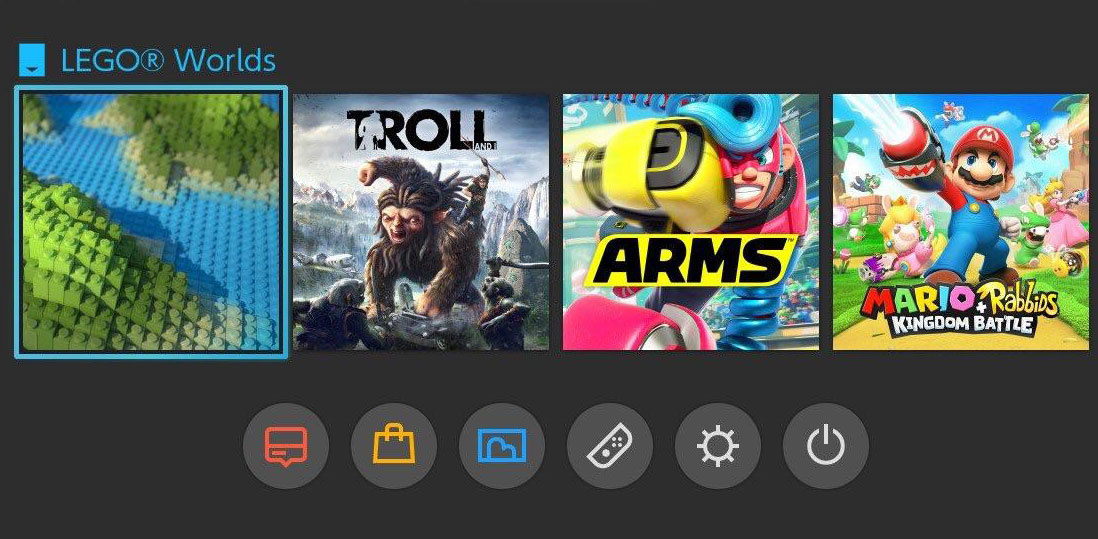 Random: This Minimalist Lego Worlds Switch Icon Isn't Exactly a Chip Off The Old Block